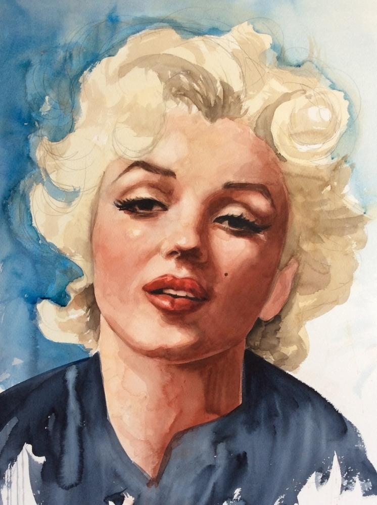 Marilyn Monroe by PennyCS